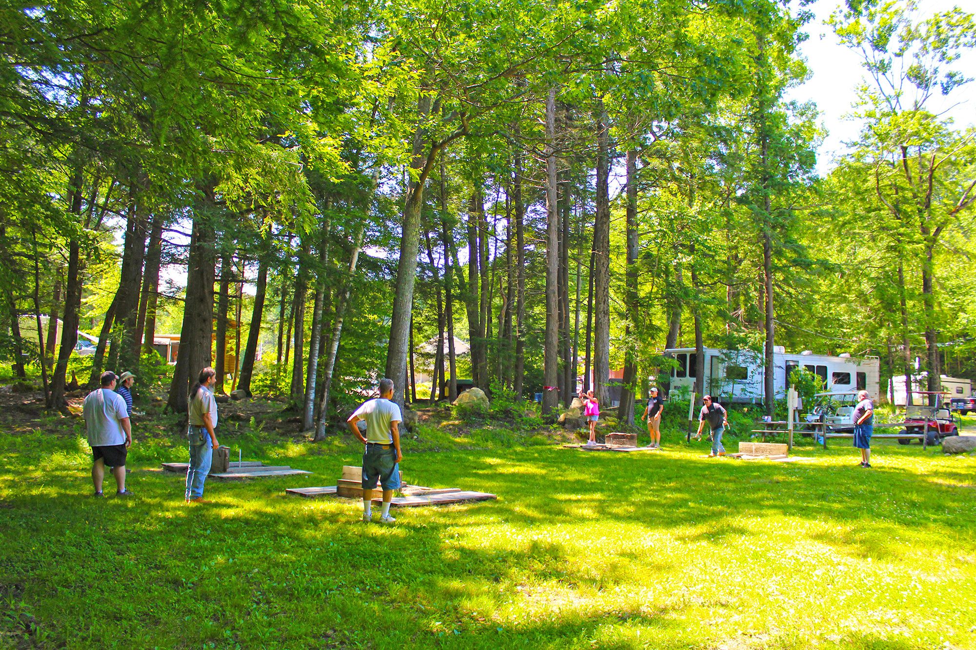 New Season at Hemlock Hill Camp Resort